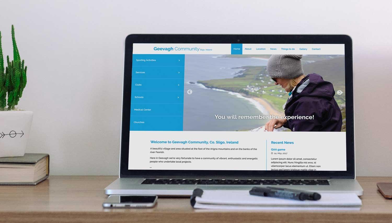 Geevagh Community website