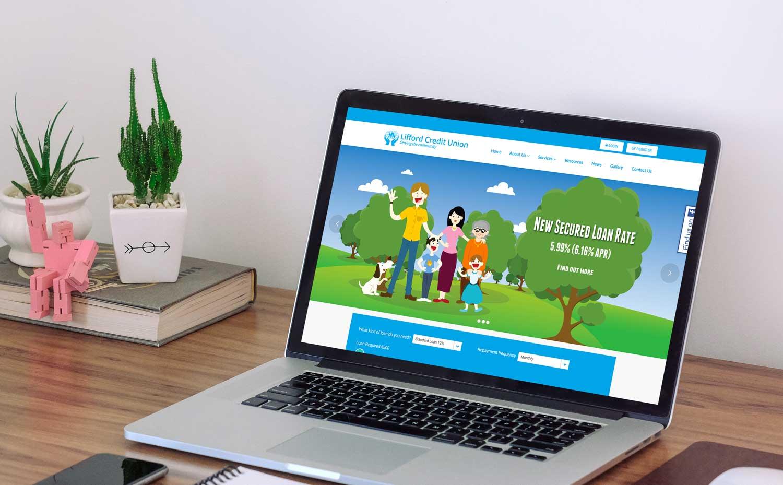 Lifford Credit Union website