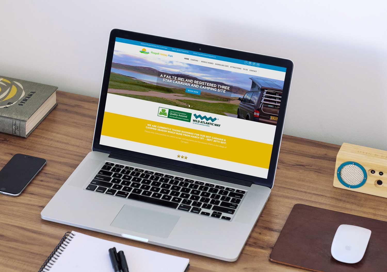 Rosguill Holiday Park website