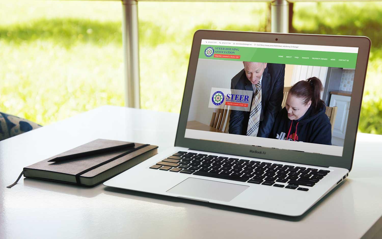 Steer Housing website