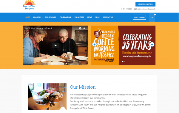 The North West Hospice website